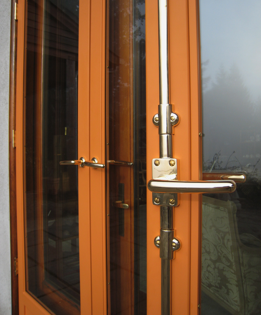 Flux design custom fabrication in portland or for Storm doors for french doors